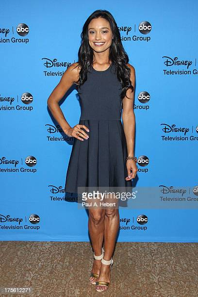 TV personality Rachel Smith attends the Disney ABC Television Group's '2013 Summer TCA Tour' at The Beverly Hilton Hotel on August 4 2013 in Beverly...