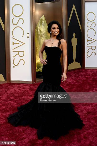 TV personality Rachel Smith attends the Oscars held at Hollywood Highland Center on March 2 2014 in Hollywood California
