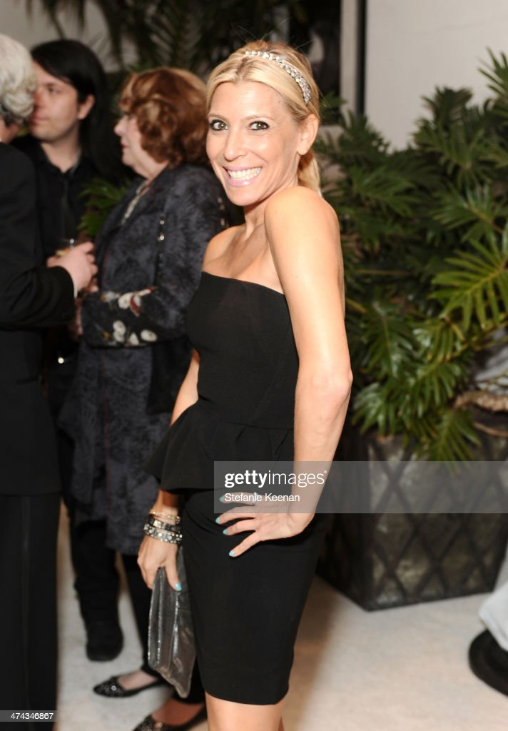 TV Personality Rachel Zalis attends the 16th Costume Designers Guild Awards with presenting sponsor Lacoste at The Beverly Hilton Hotel on February 22, 2014 in Beverly Hills, California.