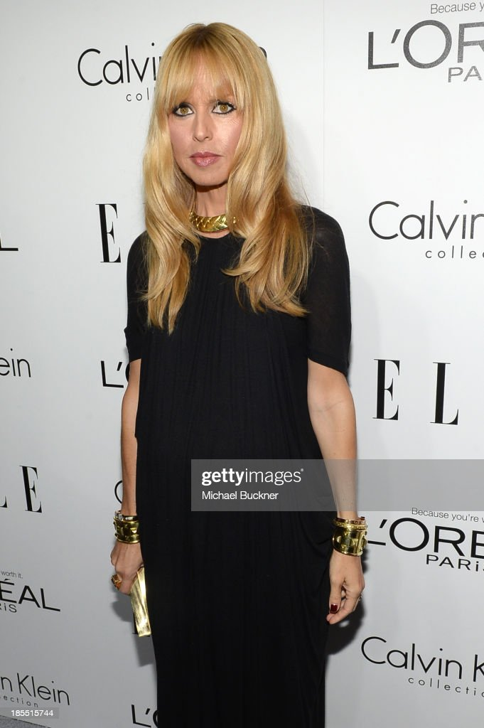 TV personality Rachel Zoe attends ELLE's 20th Annual Women In Hollywood Celebration at Four Seasons Hotel Los Angeles at Beverly Hills on October 21, 2013 in Beverly Hills, California.