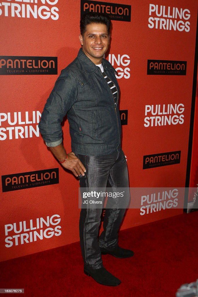 TV Personality Rafael Mercadante attends the Los Angeles Premiere of 'Pulling Strings' at Regal Cinemas L.A. Live on October 3, 2013 in Los Angeles, California.