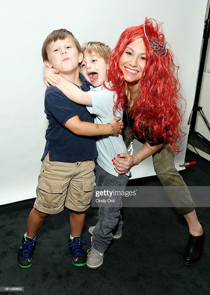 TV Personality Raina Seitel (R) attends Disney's The Little Mermaid special screening at Walter Reade Theater on September 21, 2013 in New York City.