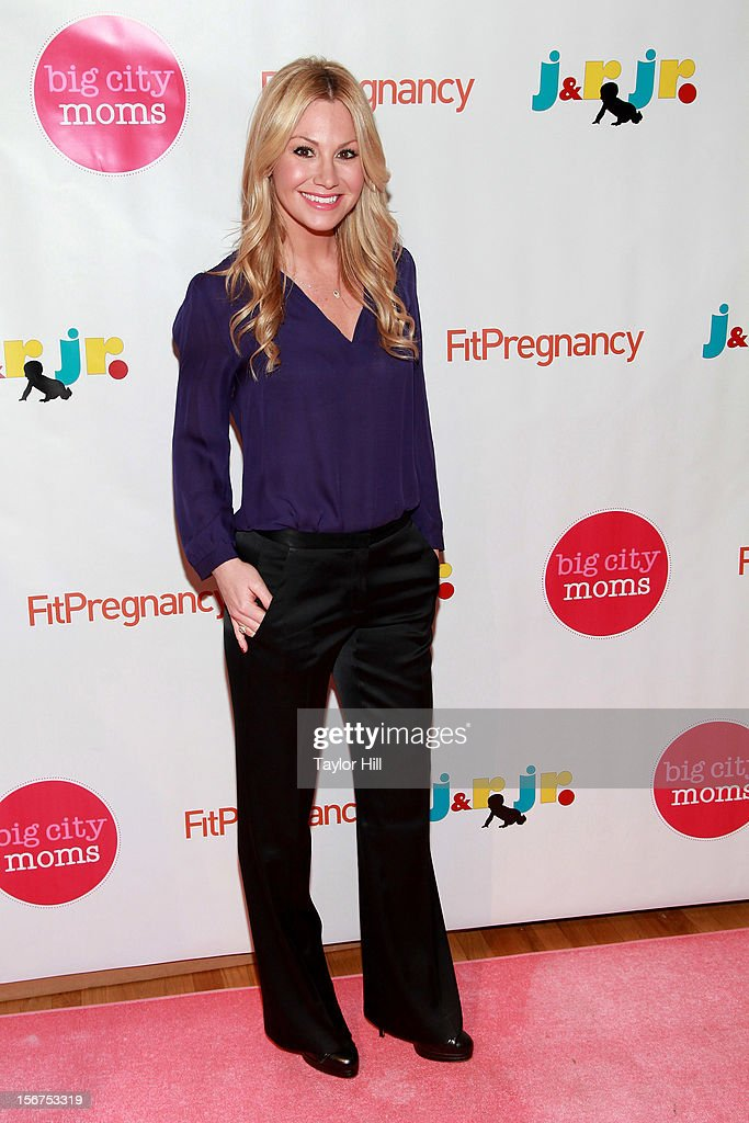TV personality Raina Seitel attends the Big City Moms 14th Biggest Baby Shower at the Metropolitan Pavilion on November 19, 2012 in New York City.