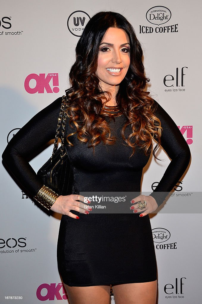 TV personality Ramona Rizzo attends the 2013 OK! Magazine 'So Sexy' Party at Marquee on May 1, 2013 in New York City.
