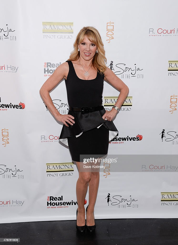 TV personality Ramona Singe attends the 'The Real Housewives Of New York City' season six premiere party at Tokya on March 12, 2014 in New York City.