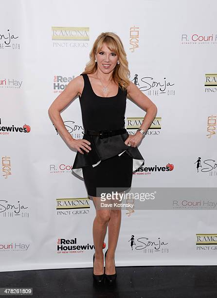 TV personality Ramona Singe attends the 'The Real Housewives Of New York City' season six premiere party at Tokya on March 12 2014 in New York City