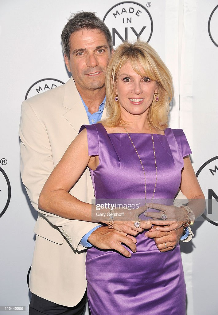 TV personality <a gi-track='captionPersonalityLinkClicked' href=/galleries/search?phrase=Ramona+Singer&family=editorial&specificpeople=4949817 ng-click='$event.stopPropagation()'>Ramona Singer</a> (R) and husband Mario Singer attend the 6th annual Made In NY awards at Gracie Mansion on June 6, 2011 in New York City.