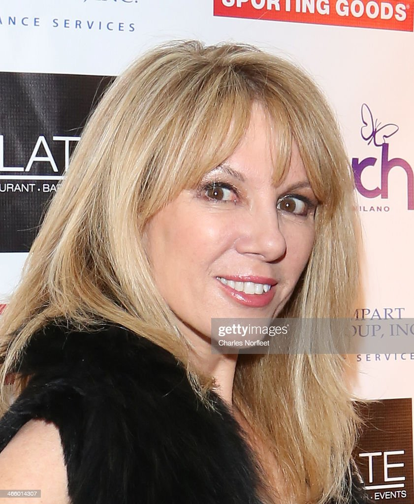 TV personality <a gi-track='captionPersonalityLinkClicked' href=/galleries/search?phrase=Ramona+Singer&family=editorial&specificpeople=4949817 ng-click='$event.stopPropagation()'>Ramona Singer</a> attends Modell's Super Bowl Kickoff Party & Touch By Alyssa Milano Fashion Show at Slate on January 30, 2014 in New York City.