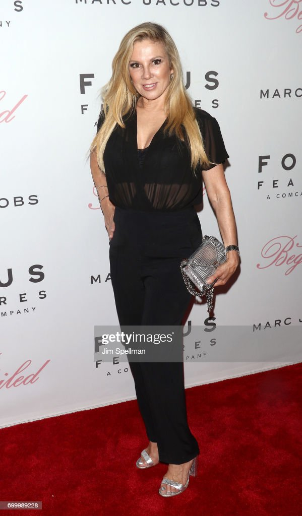 TV personality Ramona Singer attends 'The Beguiled' New York premiere at The Metrograph on June 22, 2017 in New York City.
