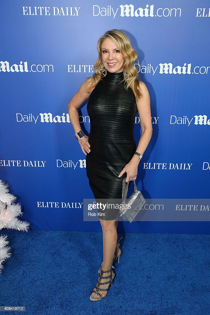 TV Personality Ramona Singer attends the DailyMail.com & Elite Daily Holiday Party with Jason Derulo at Vandal on December 7, 2016 in New York City.