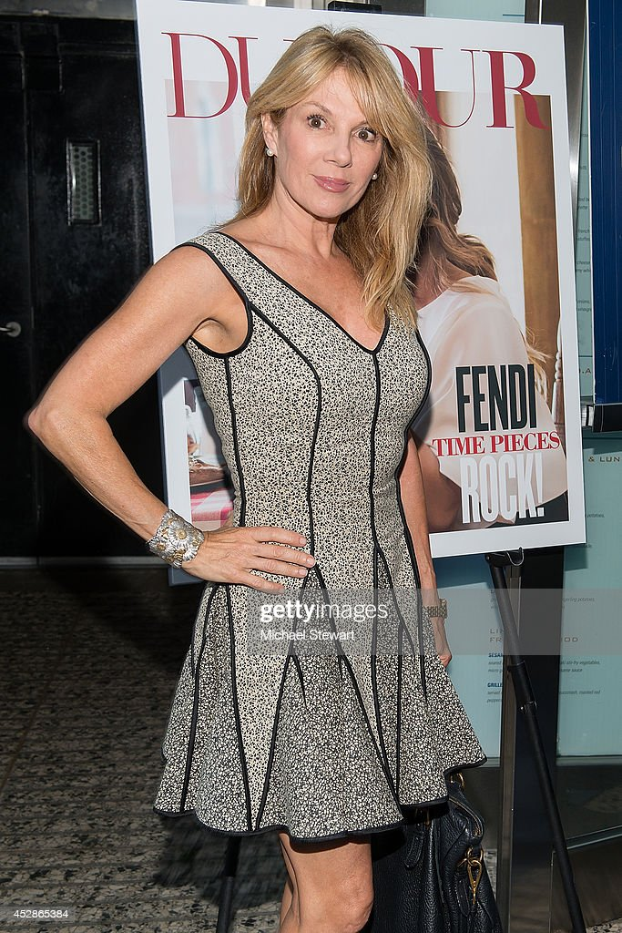 TV personality Ramona Singer attends the DuJour celebration of cover star Chrissy Teigen at NYY Steak Manhattan on July 28, 2014 in New York City.