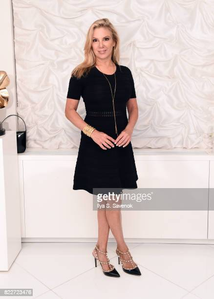 TV personality Ramona Singer poses as the Chita Rivera Awards hosts Cocktails and Couture at Randi Rahm Atelier on July 25 2017 in New York City