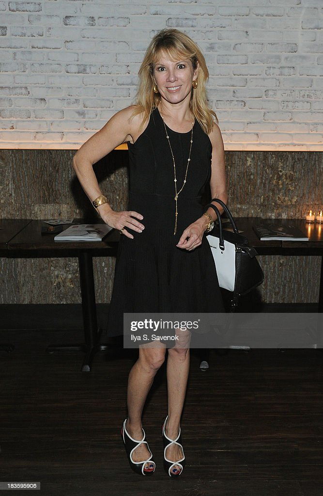 TV Personality Ramona Singer poses for a photo as DuJour's Jason Binn & Toranosuke Matsuoka debut the new fall homecoming menu at SEN NYC on October 7, 2013 in New York City.
