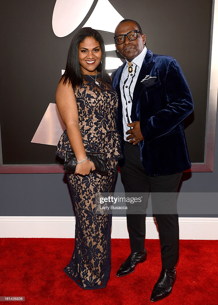 TV Personality Randy Jackson (R) attends the 55th Annual GRAMMY Awards at STAPLES Center on February 10, 2013 in Los Angeles, California.