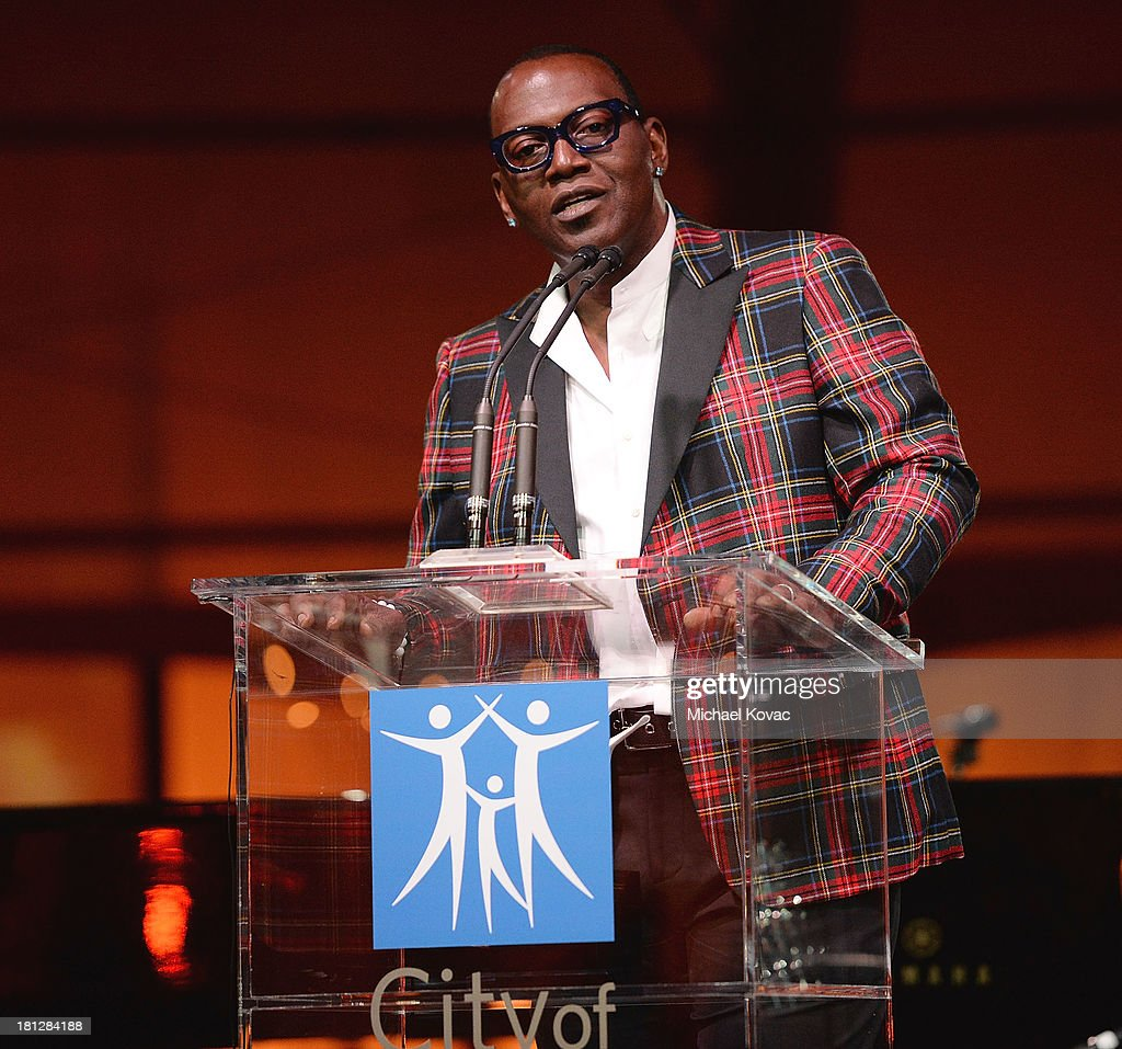 TV personality Randy Jackson presents onstage at the City Of Hope Spirit Of Life Gala Honoring Rob Light on September 19, 2013 in Playa Vista, California.