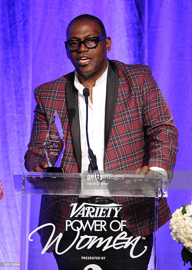 TV personality Randy Jackson speaks onstage during Variety's 5th Annual Power of Women event presented by Lifetime at the Beverly Wilshire Four Seasons Hotel on October 4, 2013 in Beverly Hills, California.