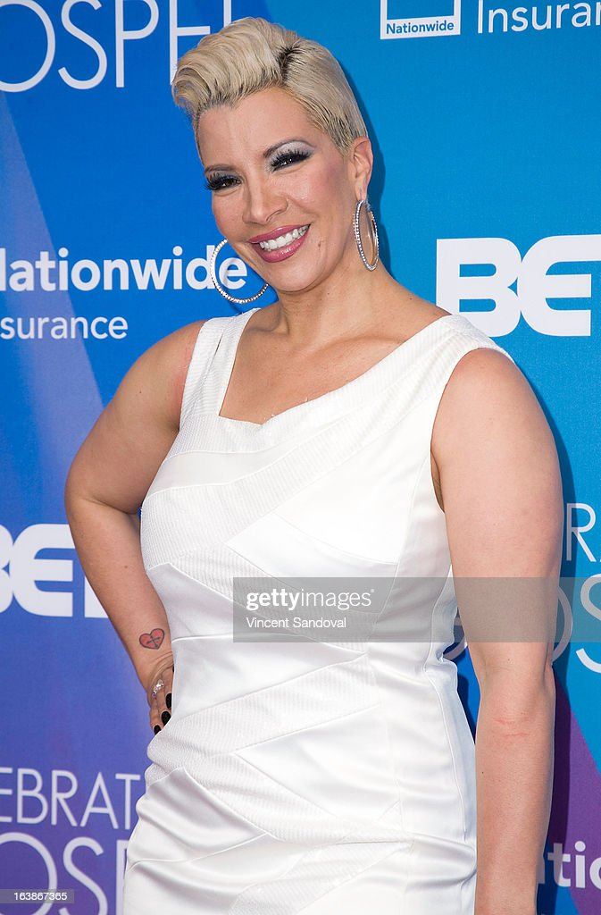 TV personality Rebecca Crews attends the BET 13th annual 'Celebration Of Gospel' at Orpheum Theatre on March 16, 2013 in Los Angeles, California.