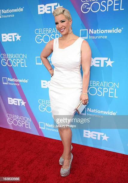TV personality Rebecca Crews attends the BET Celebration of Gospel 2013 at Orpheum Theatre on March 16 2013 in Los Angeles California
