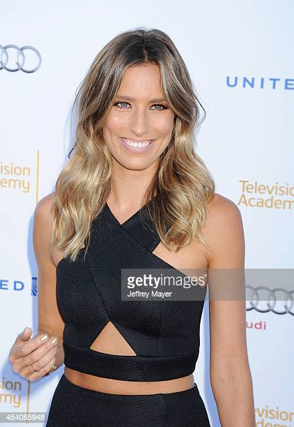 TV personality Renee Barge arrives at the Television Academy's 66th Emmy Awards Performance Nominee Reception at the Pacific Design Center on...