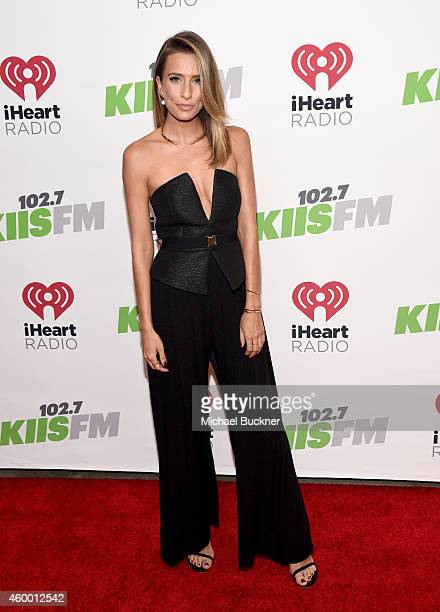 TV personality Renee Bargh attends KIIS FM's Jingle Ball 2014 powered by LINE at Staples Center on December 5 2014 in Los Angeles California