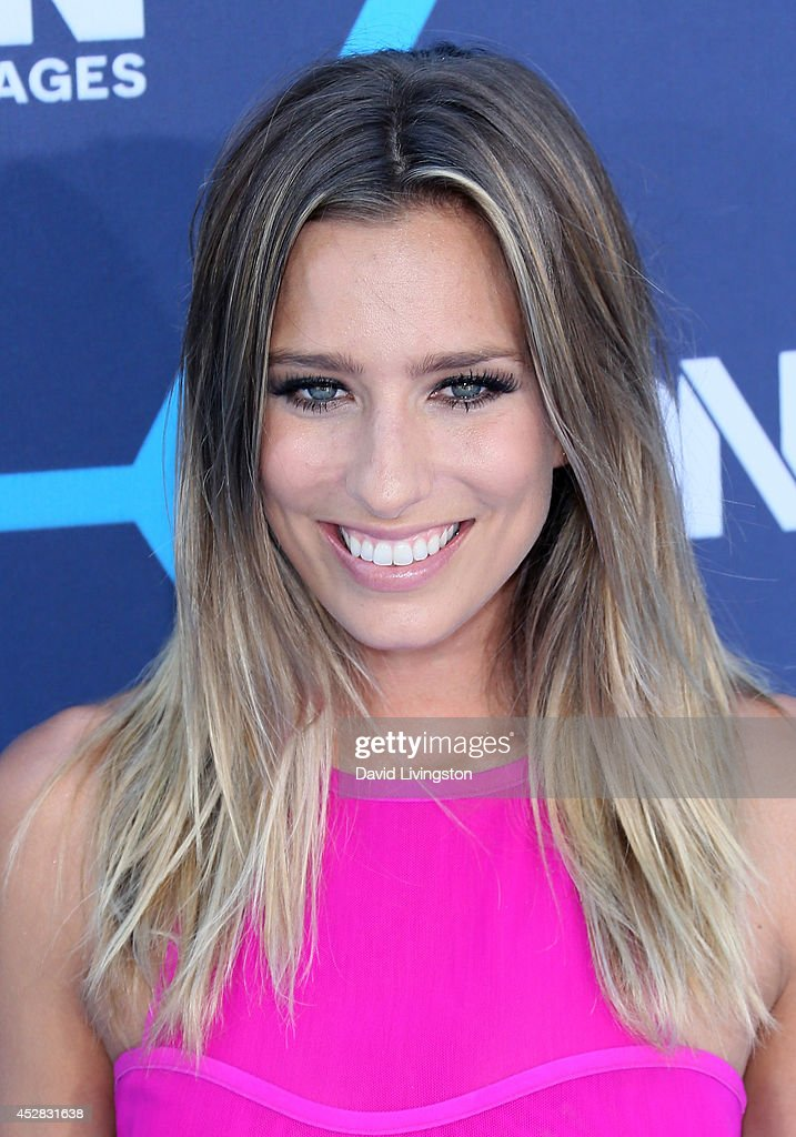 TV personality Renee Bargh attends the 16th Annual Young Hollywood Awards at The Wiltern on July 27, 2014 in Los Angeles, California.