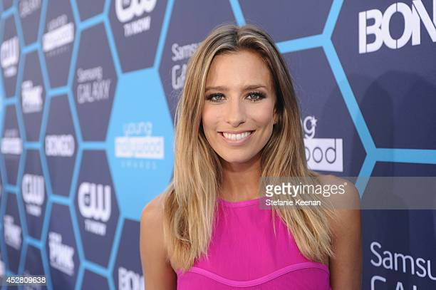 TV personality Renee Bargh attends the 2014 Young Hollywood Awards brought to you by Samsung Galaxy at The Wiltern on July 27 2014 in Los Angeles...