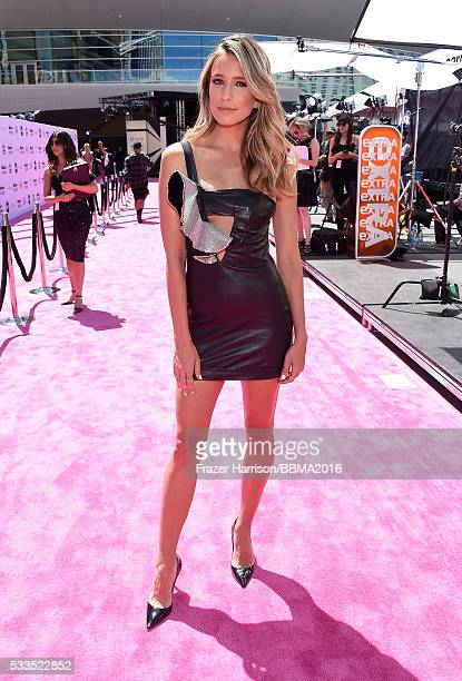 TV personality Renee Bargh attends the 2016 Billboard Music Awards at TMobile Arena on May 22 2016 in Las Vegas Nevada