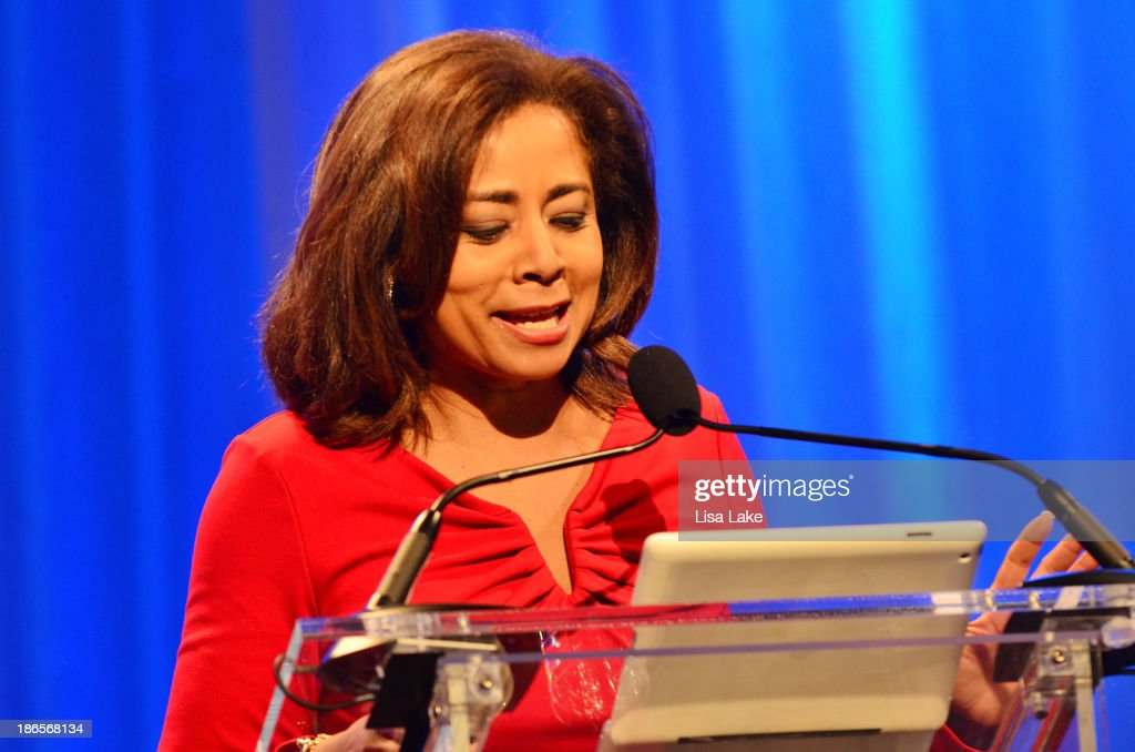 TV personality Renee Chenault-Fattah speaks onstage at the Pennsylvania Conference For Women 2013 at Philadelphia Convention Center on November 1, 2013 in Philadelphia, Pennsylvania.