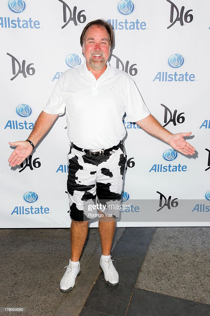TV personality Richard Karn attends the 2nd Annual Dennis Haysbert Humanitarian Foundation Celebrity Golf Classic at Lakeside Golf Club on August 26, 2013 in Burbank, California.