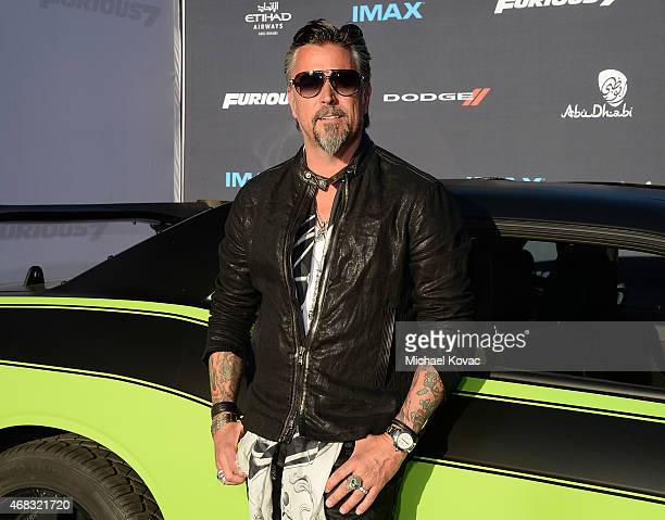 TV personality Richard Rawlings attends the Furious 7 Los Angeles Premiere Sponsored by Dodge at TCL Chinese 6 Theatres on April 1 2015 in Hollywood...