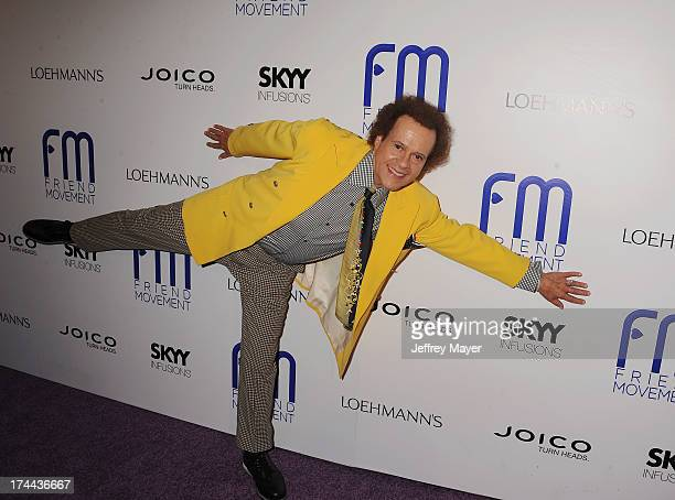Personality Richard Simmons attends the Friend Movement AntiBullying Benefit Concert at the El Rey Theatre on July 1 2013 in Los Angeles California