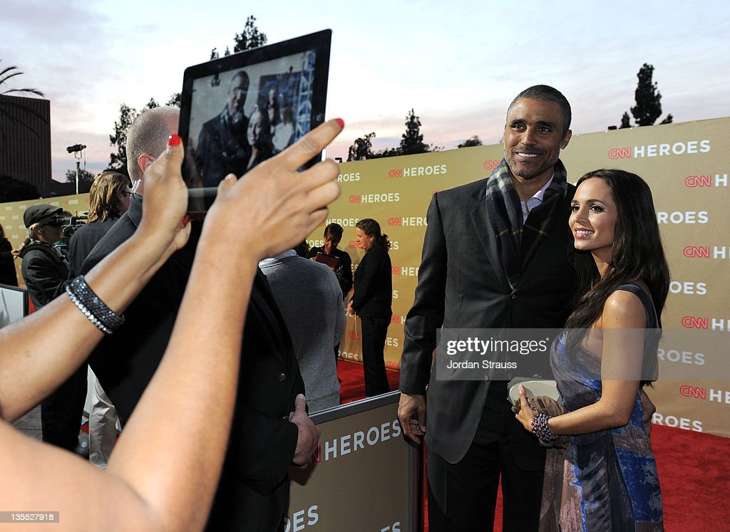 TV personality Rick Fox and actress Eliza Dushku arrive at 2011 CNN Heroes: An All-Star Tribute at The Shrine Auditorium on December 11, 2011 in Los Angeles, California. 21959_008_JS2_0443.JPG