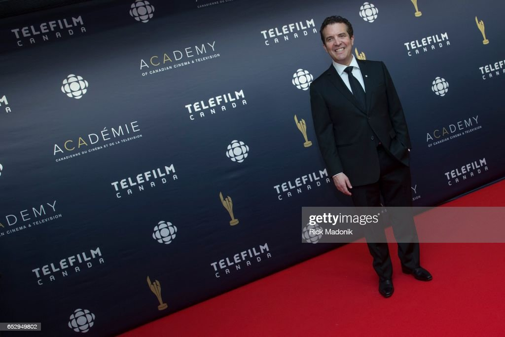 CBC personality Rick Mercer. Canadian Screen Awards red carpet at Sony Centre for the Performing Arts ahead of the show.