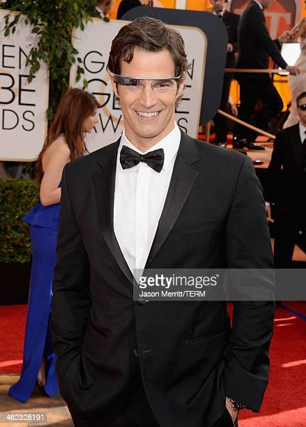 TV personality Rob Marciano attends the 71st Annual Golden Globe Awards held at The Beverly Hilton Hotel on January 12 2014 in Beverly Hills...