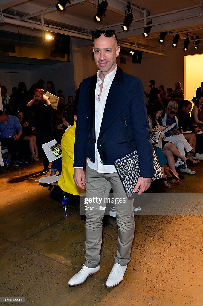 Costello Tagliapietra - Front Row & Backstage - Spring 2014 MADE Fashion Week