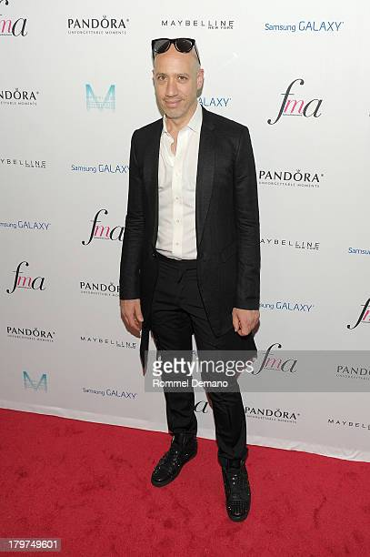 TV personality Robert Verdi attends The Daily Front Row's Fashion Media Awards at Harlow on September 6 2013 in New York City