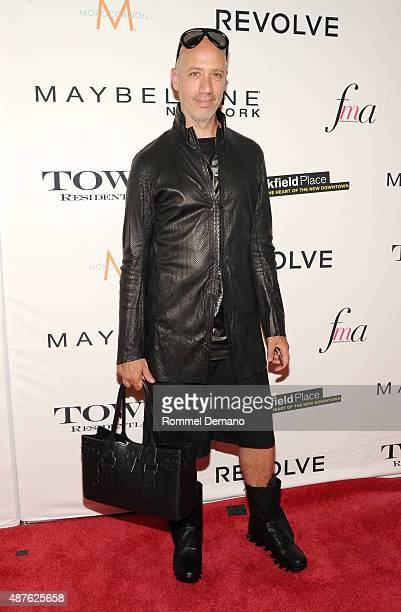 TV personality Robert Verdi attends The Daily Front Row's Third Annual Fashion Media Awards at the Park Hyatt New York on September 10 2015 in New...