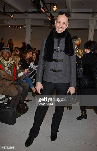 TV personality Robert Verdi attends the Rebecca Taylor fashion show during MercedesBenz Fashion Week Fall 2014 at Center 548 on February 8 2014 in...