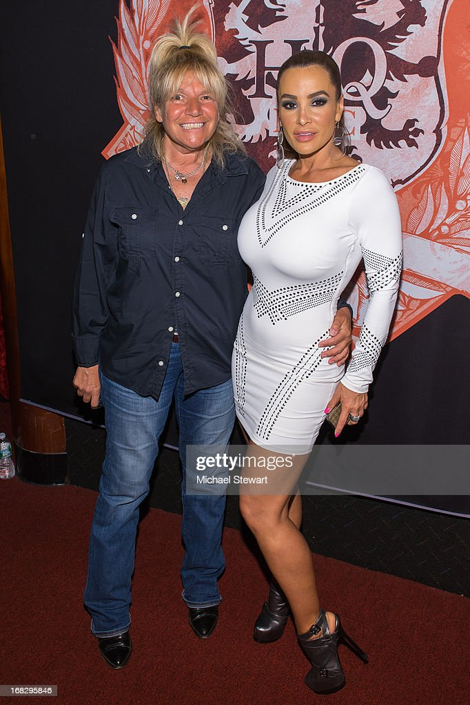 TV personality Robin Byrd (L) and adult actress Lisa Ann attend Lisa Ann's Birthday Celebration at Headquarters on May 7, 2013 in New York City.