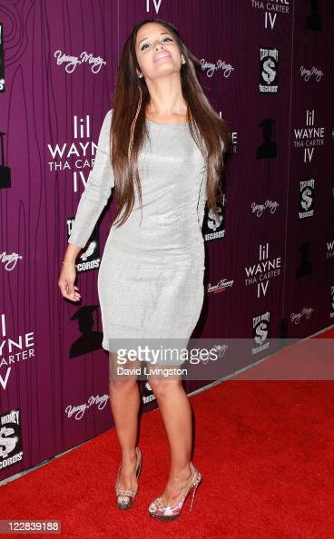 TV personality Rocsi attends Cash Money Records' Lil Wayne album release party for 'Tha Carter IV' at Boulevard3 on August 28 2011 in Los Angeles...