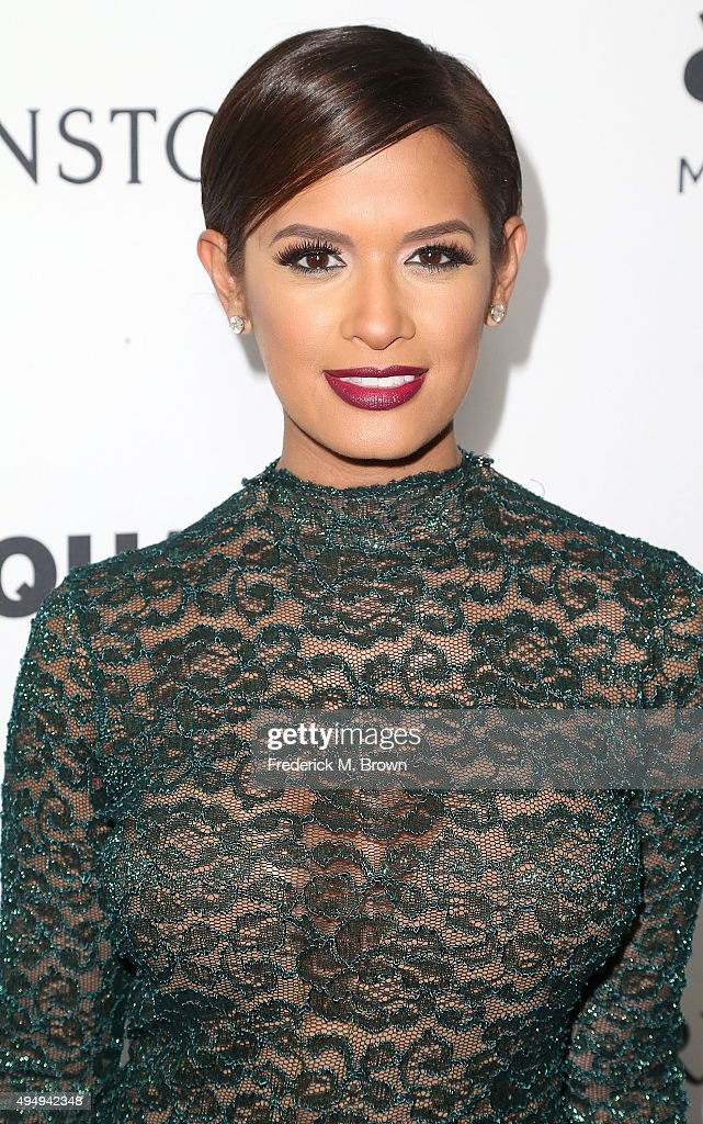 Personality Rocsi Diaz attends amfAR's Inspiration Gala Los Angeles at Milk Studios on October 29 2015 in Hollywood California