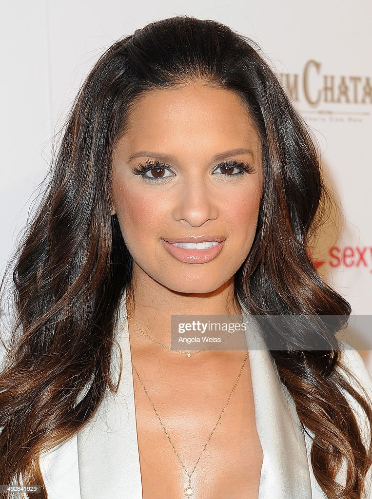 TV personality Rocsi Diaz attends OK Magazine's So Sexy L.A. Event at LURE on May 21, 2014 in Los Angeles, California.
