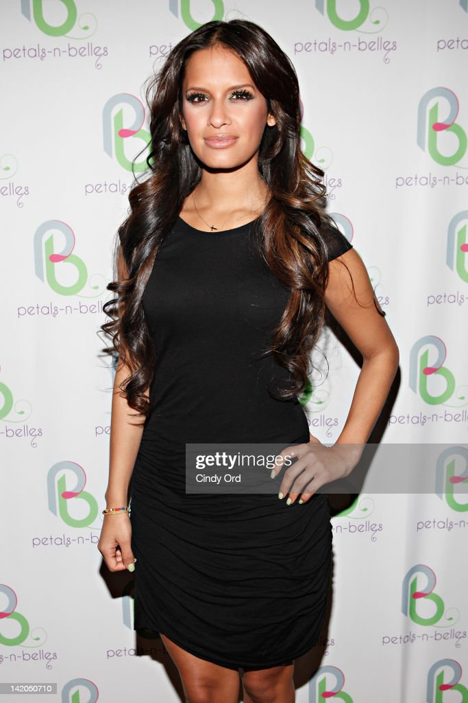 TV personality Rocsi Diaz attends PetalsNBelles Limitless 2012 at Greenhouse on March 28 2012 in New York City