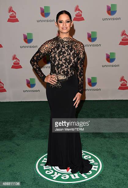TV personality Rocsi Diaz attends the 15th Annual Latin GRAMMY Awards at the MGM Grand Garden Arena on November 20 2014 in Las Vegas Nevada