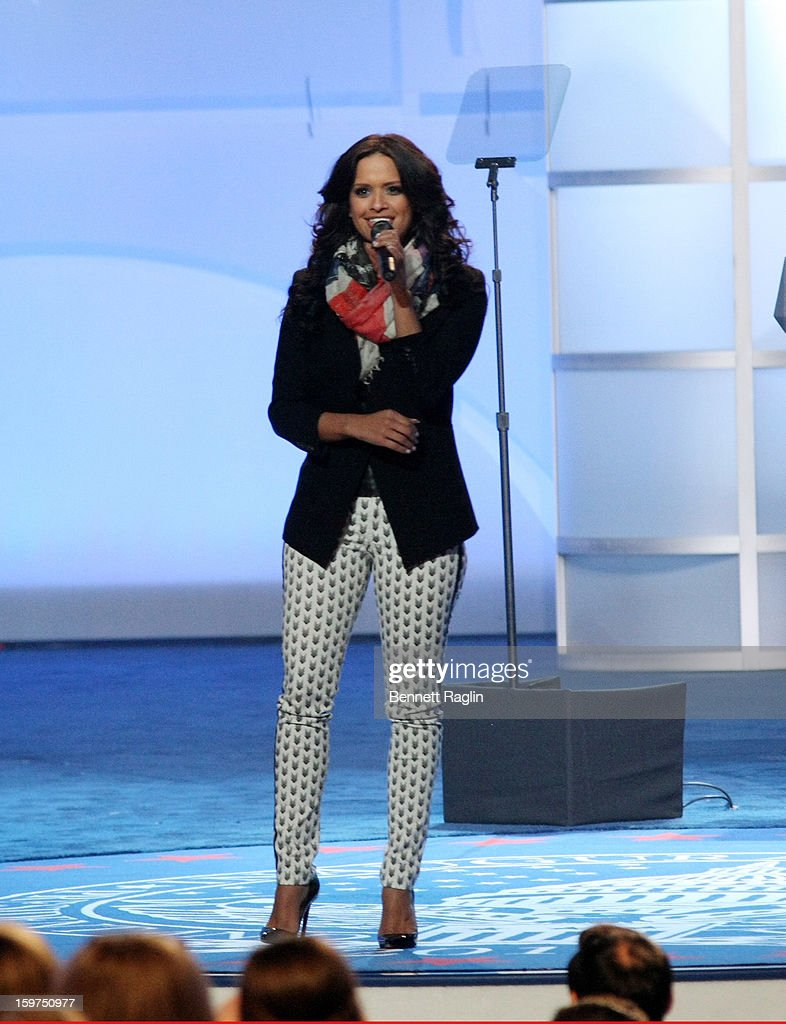 TV personality Rocsi Diaz attends the 2013 Kids' Inaugural: Our Children, Our Future on January 19, 2013 in Washington, DC.