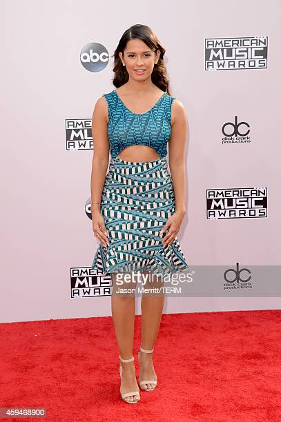 TV personality Rocsi Diaz attends the 2014 American Music Awards at Nokia Theatre LA Live on November 23 2014 in Los Angeles California