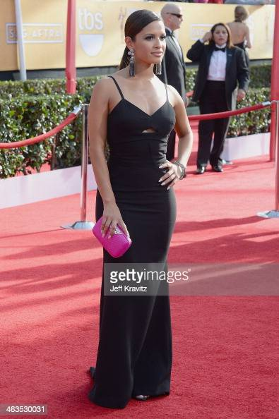 Personality Rocsi Diaz attends the 20th Annual Screen Actors Guild Awards at The Shrine Auditorium on January 18 2014 in Los Angeles California