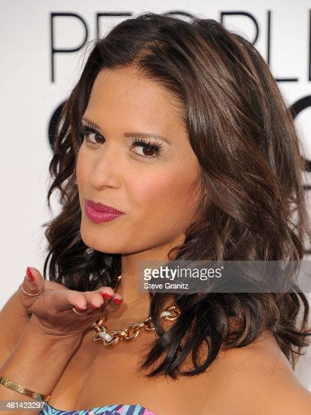 TV personality Rocsi Diaz attends The 40th Annual People's Choice Awards at Nokia Theatre LA Live on January 8 2014 in Los Angeles California