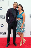 TV personality Rocsi Diaz attends the 42nd Annual American Music Awards at the Nokia Theatre LA Live on November 23 2014 in Los Angeles California