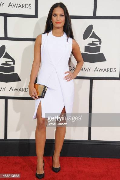 TV personality Rocsi Diaz attends the 56th GRAMMY Awards at Staples Center on January 26 2014 in Los Angeles California